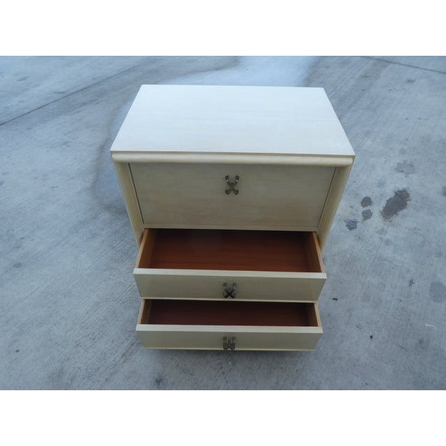 1950s Mid-Century Modern Johnson Furniture Paul Frankl Nightstand For Sale - Image 9 of 11