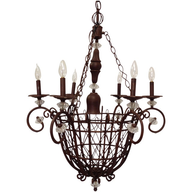 Oil Rubbed Bronze Candle Style Chandelier - Image 1 of 8