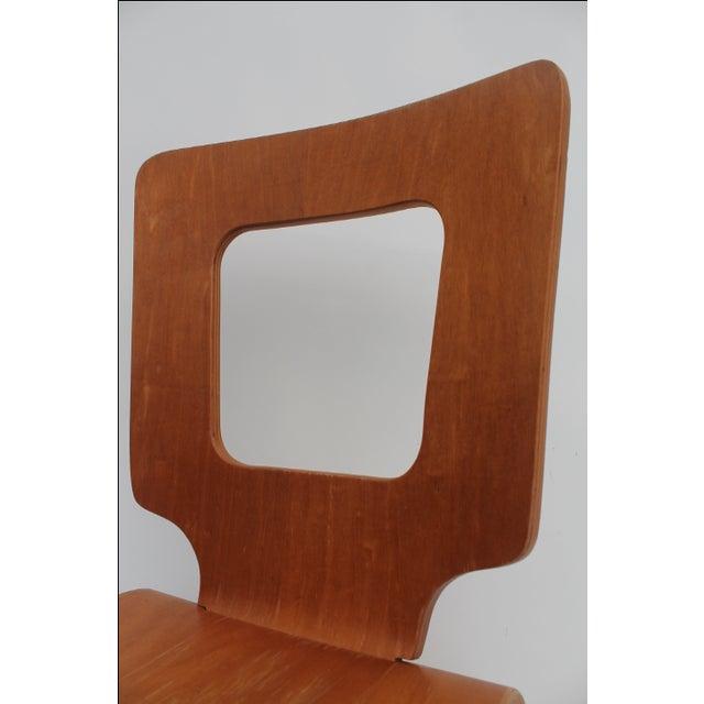 Thaden Jordan Mid-Century Bentwood Birch Chair For Sale - Image 5 of 11
