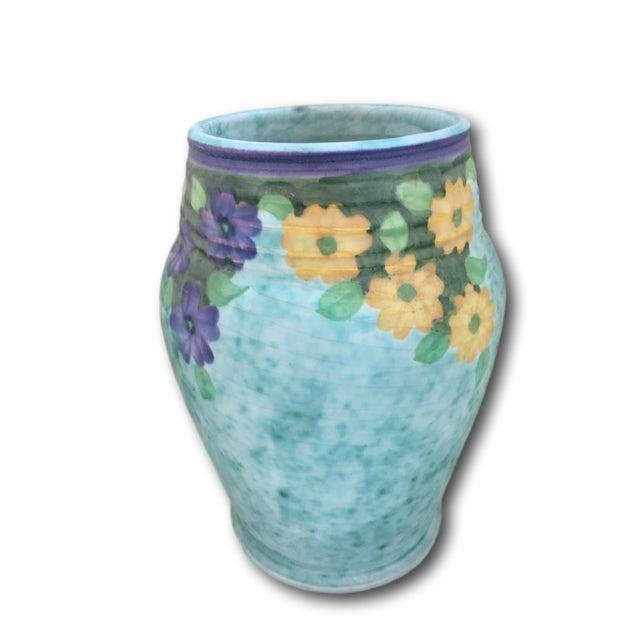 Ceramic 1930's Edward Radford Art Nouveau Vase For Sale - Image 7 of 7