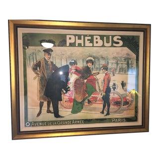 """""""Phebus Auto"""" French Poster"""