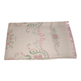 Vintage Decorative Wool Blanket