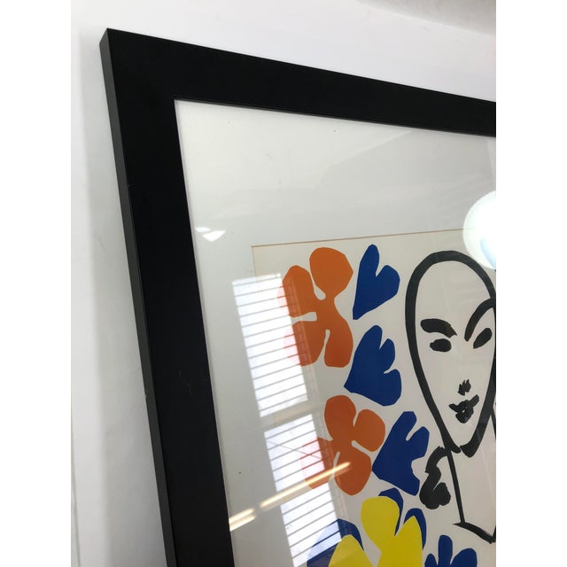 Original Henri Matisse 1953 Exhibition Poster from Tate Gallery For Sale In Los Angeles - Image 6 of 7