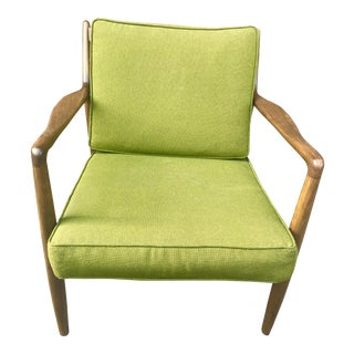 1960s Mid Century Modern Lounge Chair by Folke Ohlsson For Sale