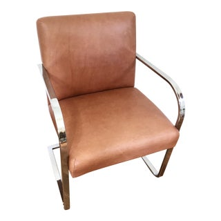 Leather Cantilever Brno Chair