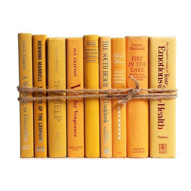 Modern Yellow ColorPak Of Books - Image 1 of 3