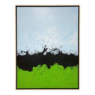 """John O'Hara """"Tar 31"""" Encaustic Painting For Sale"""