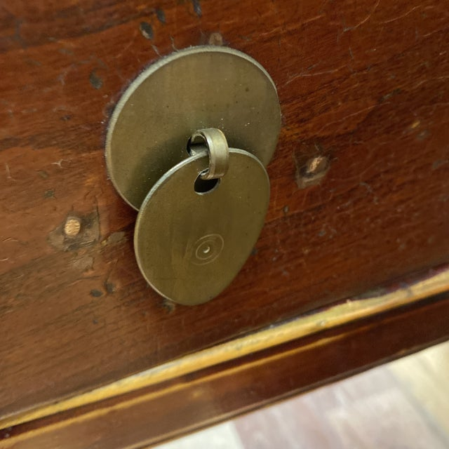 Chestnut Mid 20th Century Chinese Game Table For Sale - Image 8 of 11