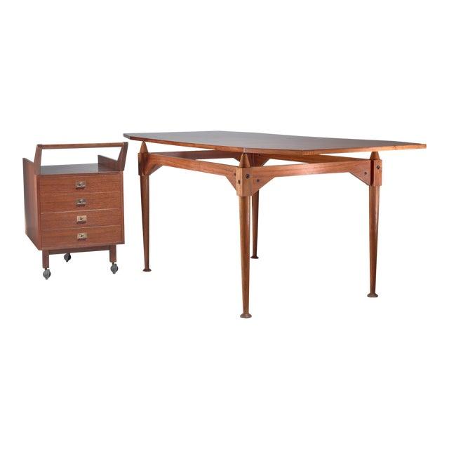 Franco Albini Tl3 Desk for Poggi, Italy, Early 1950s For Sale