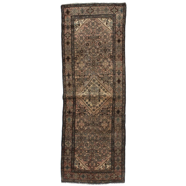 """Antique Persian Malayer Runner - 3'3"""" X 9'9"""" For Sale"""