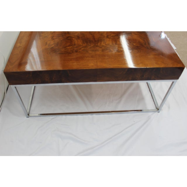 Mid Century Modern Milo Baughman coffee table - Image 3 of 7