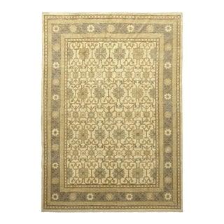 """One-of-a-Kind Traditional Hand-Knotted Area Rug 6' 3"""" x 8' 10"""" For Sale"""