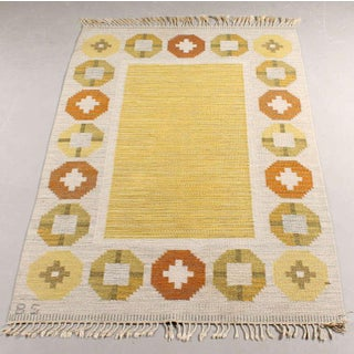 Vintage Scandinavian Rollokan Rug, Attributed to Barbro Sprinchorn Preview