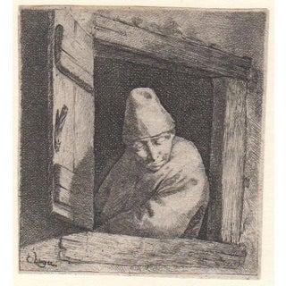 17th Century Etching by Cornelis Bega