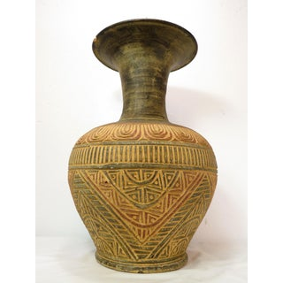 Antique Moroccan Ceramic Clay Pottery Art Vase Preview