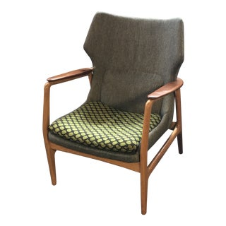 Bender Madsen Danish Modern Lounge Chair For Sale