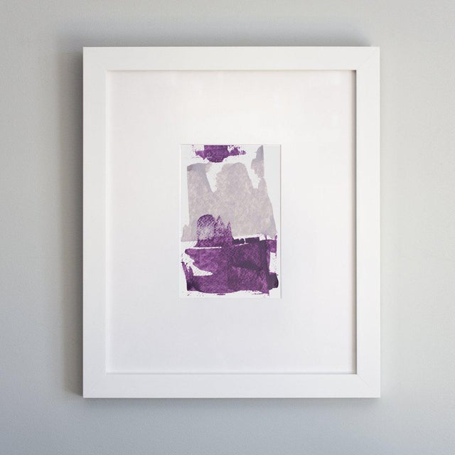 Abstract Julia Contacessi, 'Plumb Happy No. 2', 2018 For Sale - Image 3 of 3