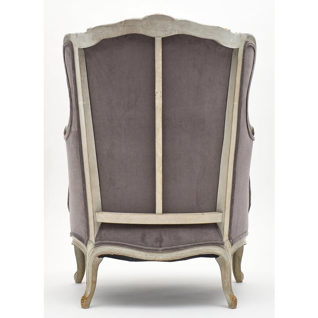 Louis XV Style French Bergère Chairs - a Pair For Sale - Image 10 of 12
