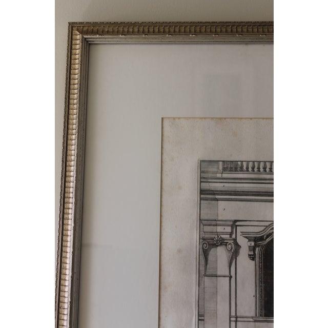 Printmaking Materials Early 19th Century Antique Finestra Sopra La Porta Architectual Print For Sale - Image 7 of 10