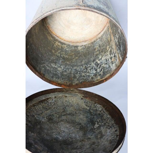 Metal Grain Drum For Sale - Image 4 of 6