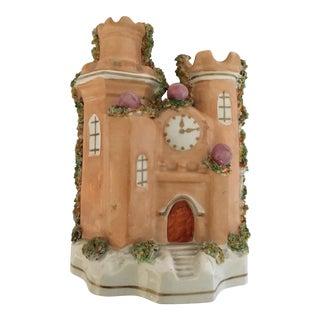 Circa 1860 Staffordshire Castle Pastille Burner