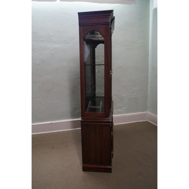 Harden Solid Cherry Chippendale China Cabinet - Image 3 of 10