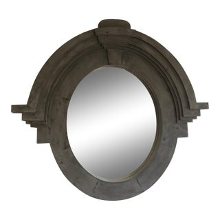 Large Mansard Mirror For Sale