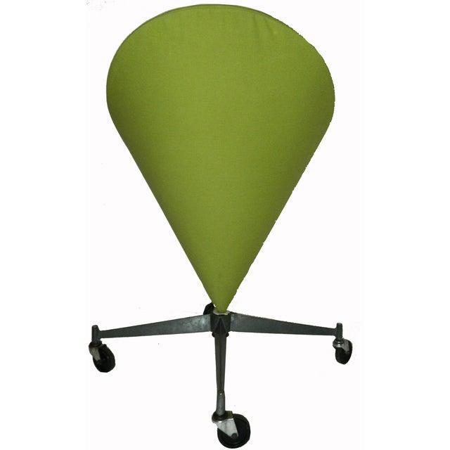 Mid-Century Modern Vintage Verner Panton Cone Chair For Sale - Image 3 of 4