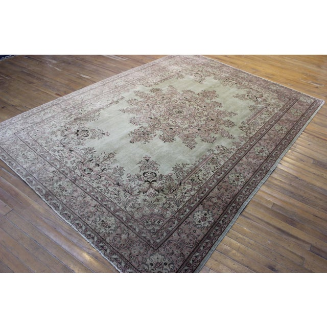 This handknotted one is from Kars which has an old and famous carpet tradition and belongs to the pioneer cities of the...