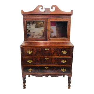 Antique Secretary Cabinet For Sale