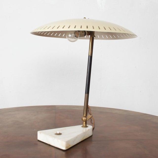 Midcentury Italian Table Lamp Desk Light Sarfatti Arteluce Stilnovo 1950s For Sale - Image 11 of 11