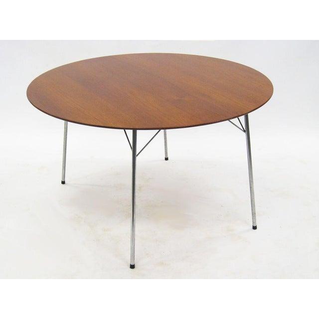 Model 3600 dining table by Arne Jacobsen for Fritz Hansen - Image 6 of 7
