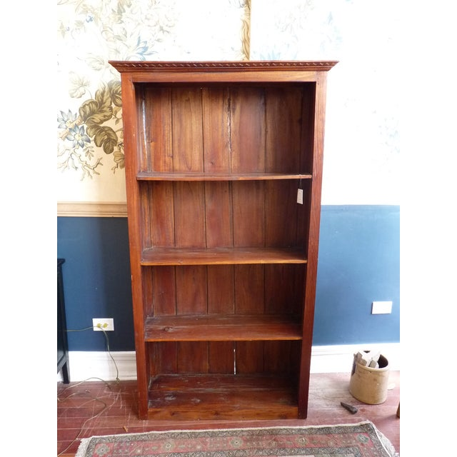 Rustic Wooden Bookcase - Image 2 of 11