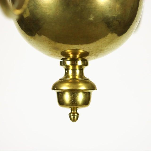 A Dutch Brass triple tier, 18 light Chandelier, circa 1860 For Sale - Image 4 of 8
