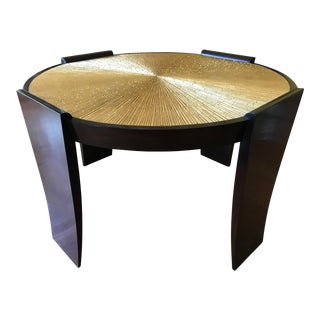 Thomas Pheasant for Baker Radiant Center Table For Sale