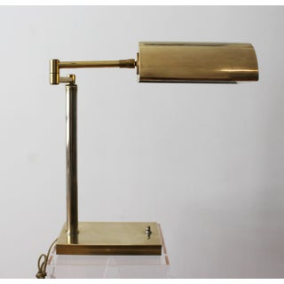 1970s Brass Task Lamp Preview