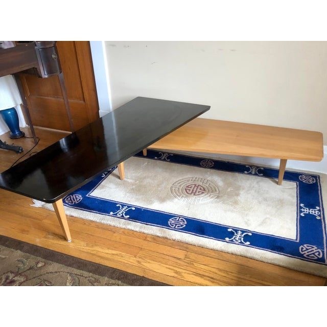 Mid 20th Century Mid Century Switchblade Boomerang Coffee Table For Sale - Image 5 of 11
