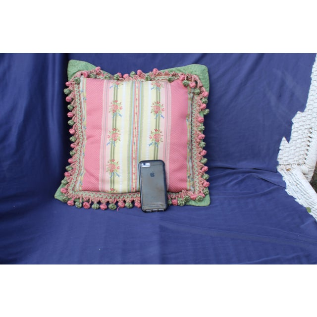 Mid 20 C. French Chair Pillow For Sale In San Diego - Image 6 of 9