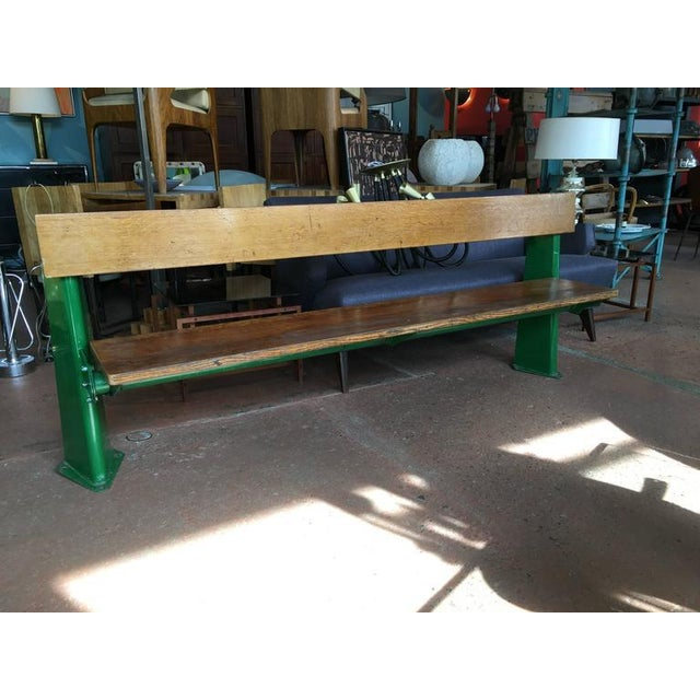 Mid-Century Modern Bench by Jean Prouve, circa 1957 For Sale - Image 3 of 8