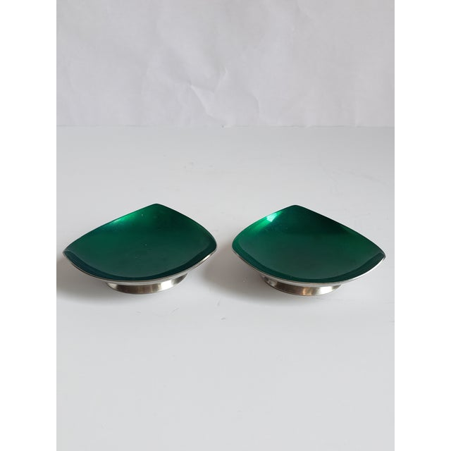 Danish Modern Mid Century Modern Selton Danish Candle Holders-A Pair For Sale - Image 3 of 8