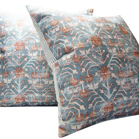 Contemporary Rubia Zak and Fox Khotan Tribal Designer Pillow For Sale - Image 3 of 5