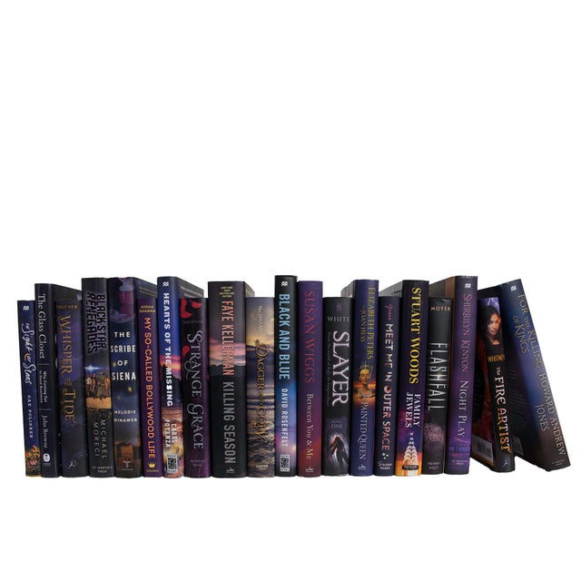 Transform your space with our Modern Plum Dust Jackets By The Foot. These are authentic Modern hardback books in their...