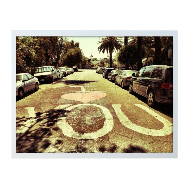 "Margaux Fischer ""Street Love"" Framed Photo Print - Image 1 of 3"