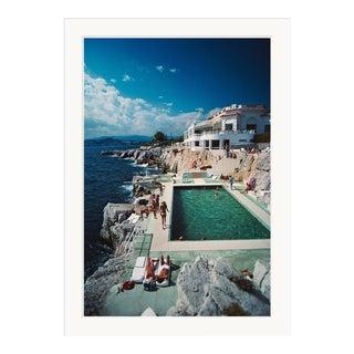 "Slim Aarons, ""Hotel du Cap Eden-Roc,"" August 1, 1976 Getty Images Gallery Framed Art Print For Sale"