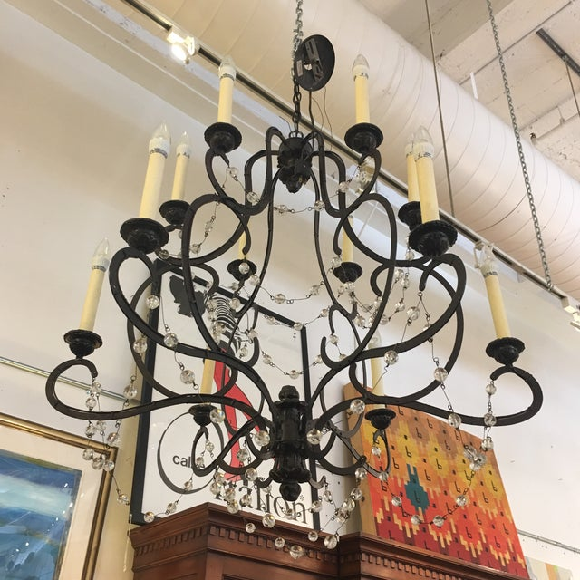 Visual Comfort Niermann Weeks Lombary Double Tiered Chandelier - Image 5 of 11