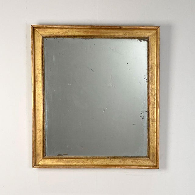 19th Century Gilt Wood Mirror France Circa 19th Century For Sale - Image 5 of 5