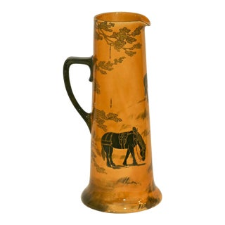 Doulton Cider Pitcher, Draft Horse Decoration Arts and Crafts For Sale