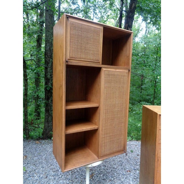 Mid-Century Modern Jack Cartwright for Founders Wall Cabinet For Sale - Image 3 of 13