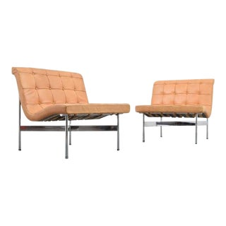 William Katavolos, Ross Littell & Douglas Kelley New York Lounge Chairs - A Pair For Sale
