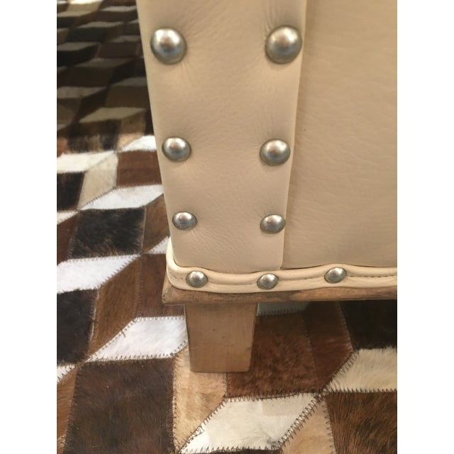 CR Laine Gotham Creme Leather Chair - Image 8 of 8